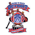 Metro Detroit Police Fire Pipes & Drums Logo