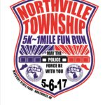 northville fun run police badge logo