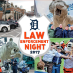 Detroit Tigers law enforcement night