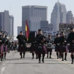 metro detroit police & fire pipes & drums band