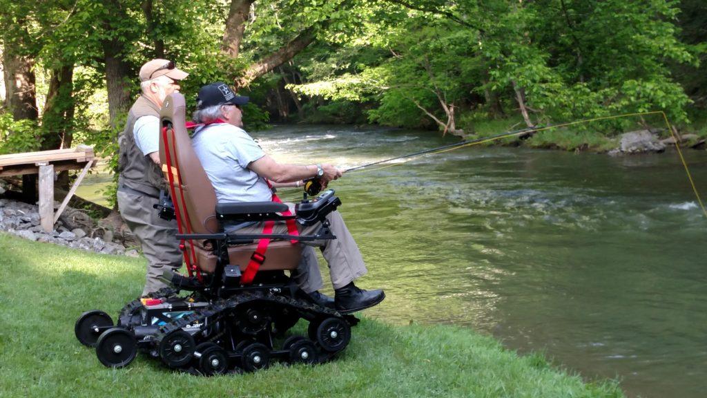 trac fab wheelchair