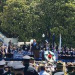 trump speaking at police week