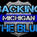 backing the blue michigan