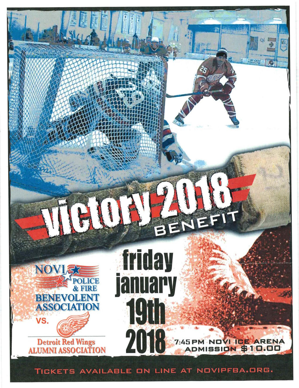 victory 2018 benefit