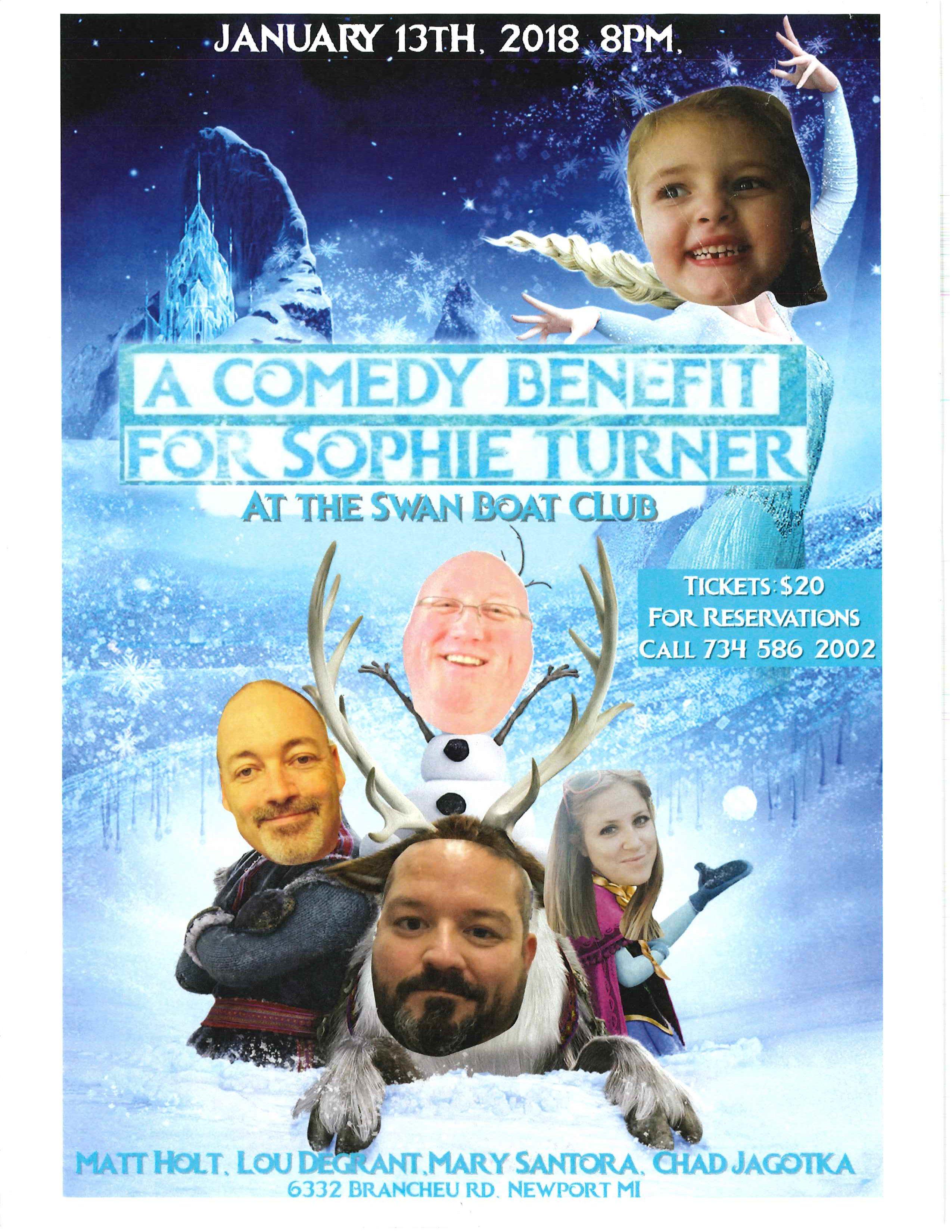 sophie turner fundraiser