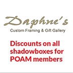 Daphne's Custom Framing and Gift Gallery Logo