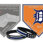 law enforcement appreciation night at comerica 2018