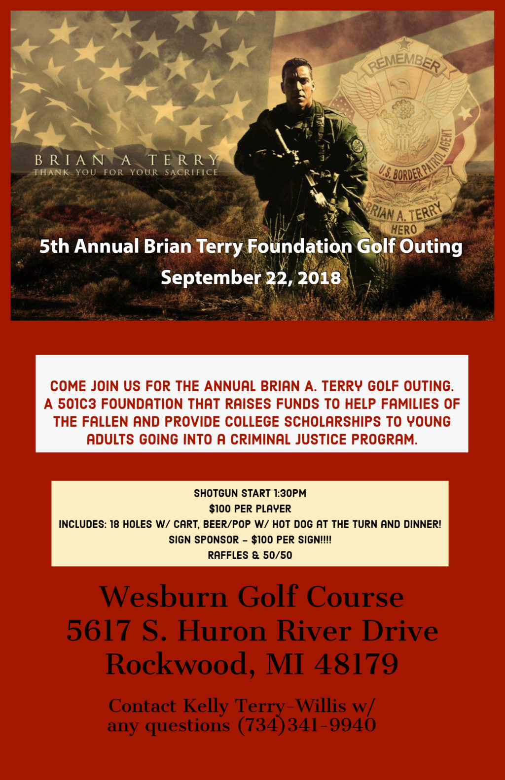 5th Annual Brian Terry Foundation Golf Outing