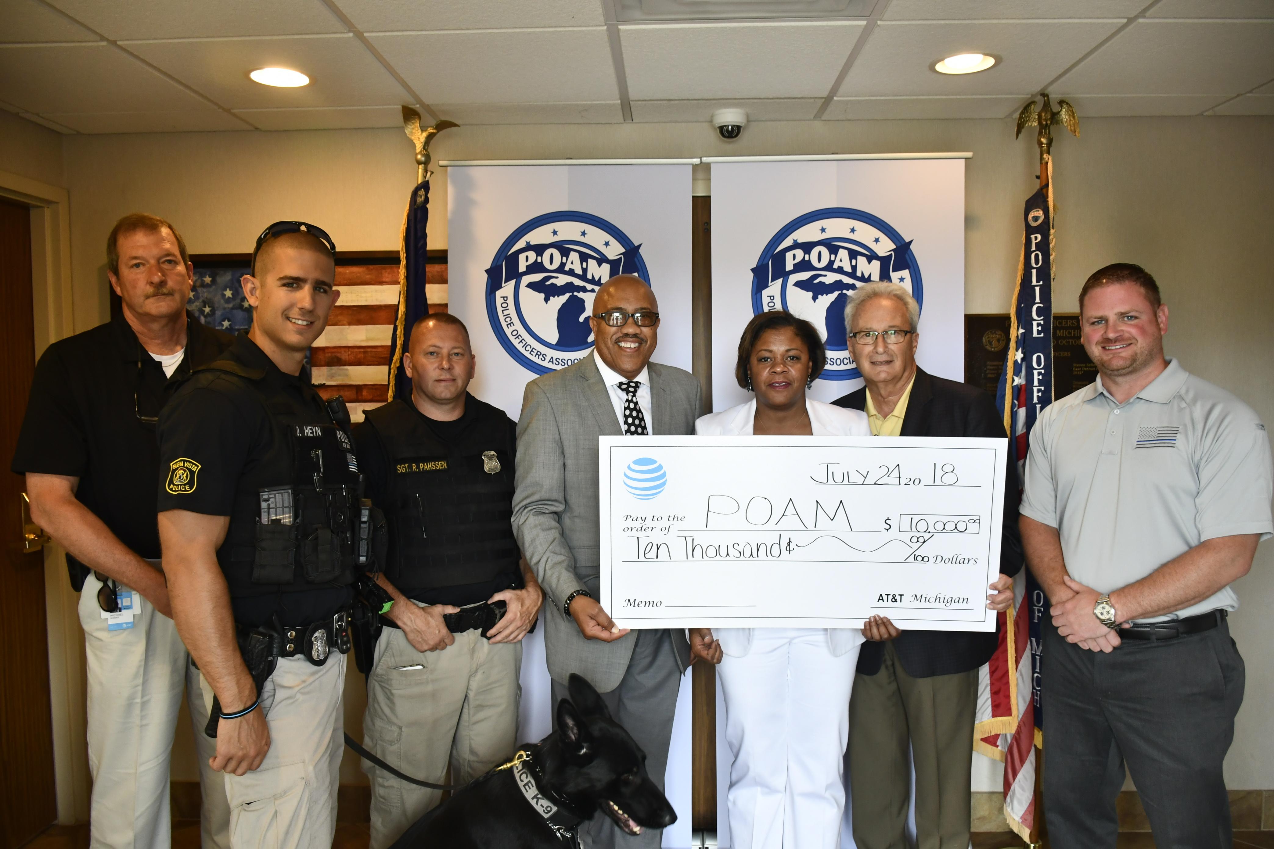 Buena Vista Police Department Law Enforcement Grant Winner