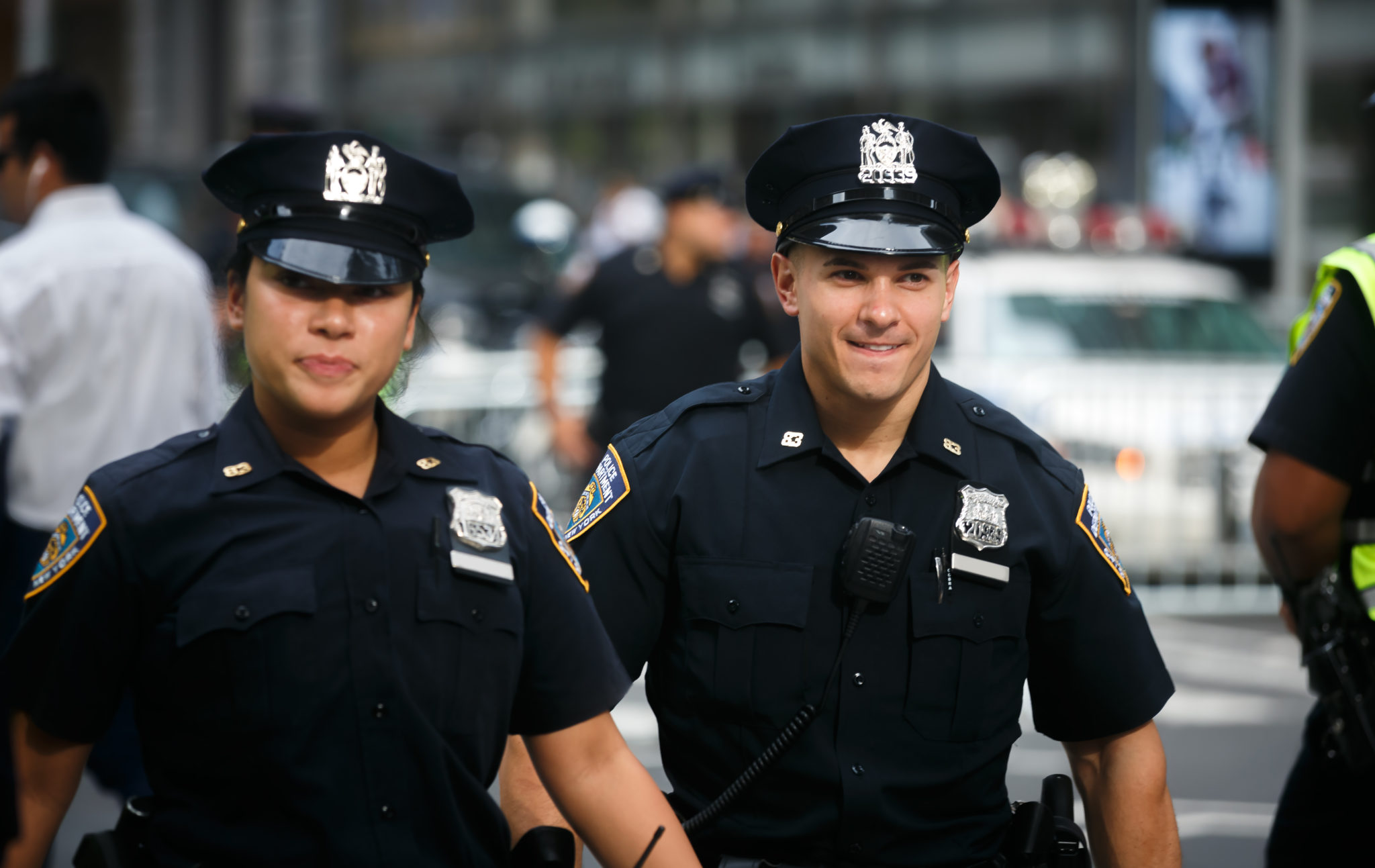 Two police officers walking | 2021 Good Cop Nominees