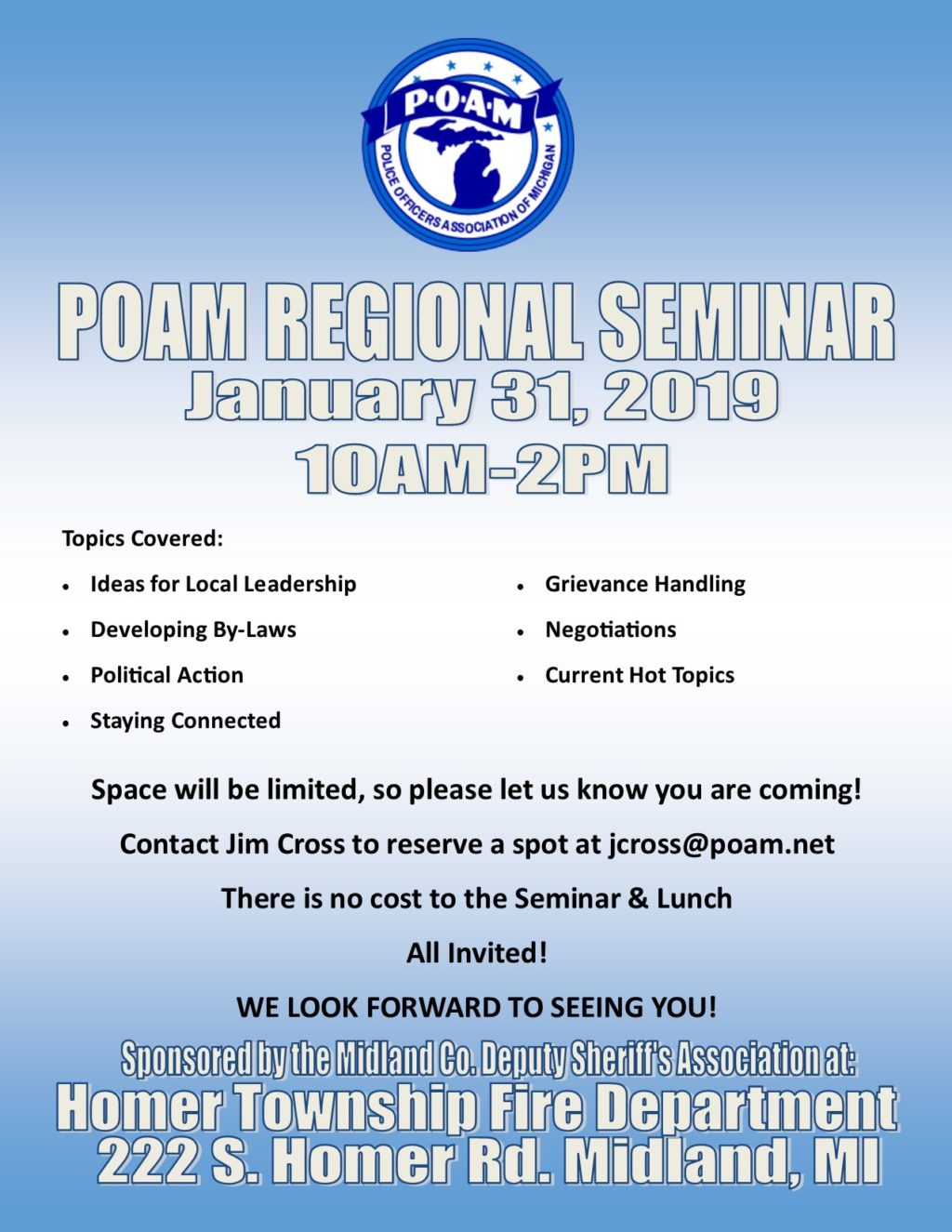Regional Seminar POAM