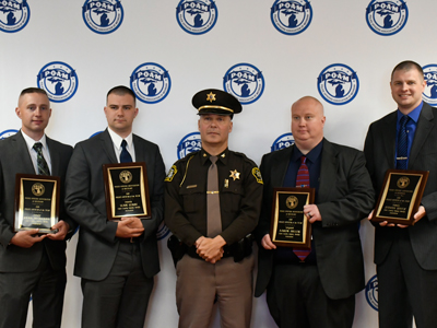 Clare County DSA Officers Receive P.O. of the Year Awards