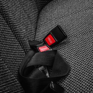 Seat Belt Research   POAM   Image of Seat Belts in Car.