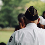 Veteran saluting | Veteran fundraiser event posting image