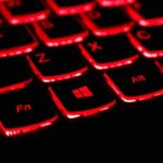 Keyboard with Red Backlights | Talia Hamid, Communication Specialist, Featured Post