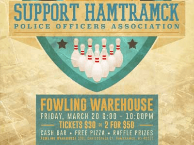 Hamtramck Police Officers Association Fowling Outing