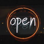 Image of an open sign | Is POAM Open During COVID-19