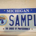 POAM License Plate