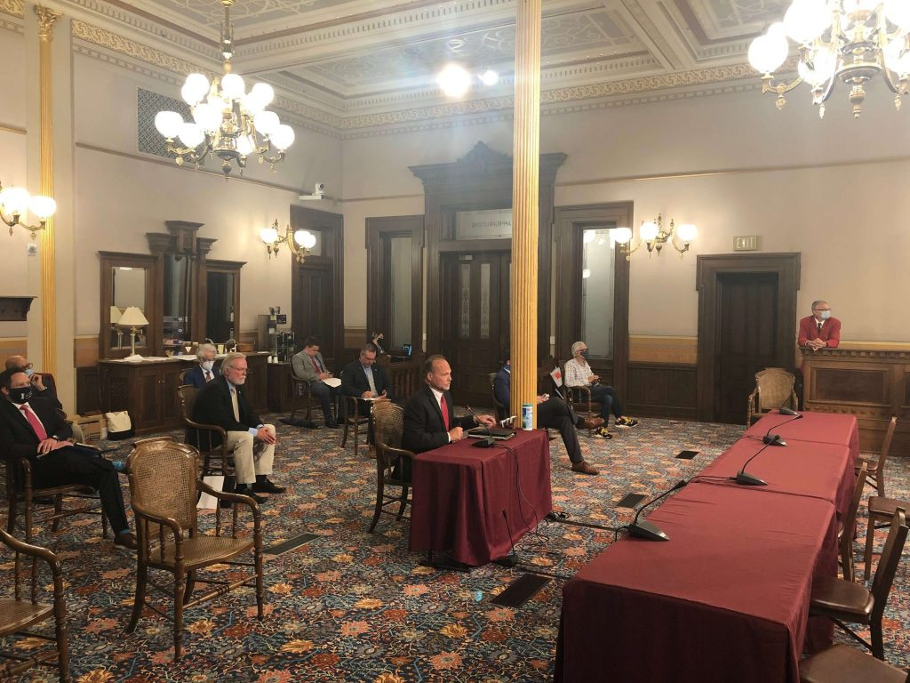 House Testimony | General Counsel Testifying in Lansing