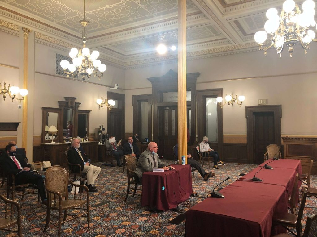 House Testimony | Legislative Director Testifying in Lansing