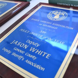 Deputy Jason White, Genesee County Sheriff's Department