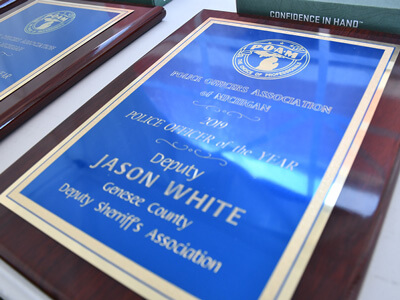 Deputy Jason White, Genesee County Sheriff's Department