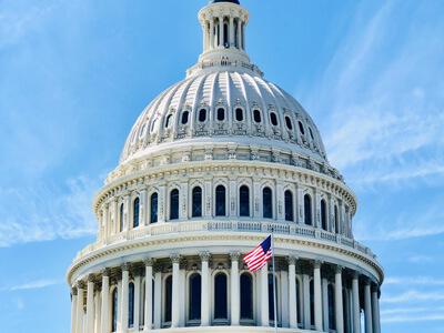 Capitol building in Washington, D.C.   John James Endorsement   2020 Political Endorsements   May 2021 POAM Washington Report