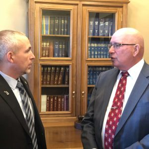 Michigan Speaker of The House Jason Wentworth & POAM Executive Board Member Kenneth Grabowski   Training Plan to Support Local Police