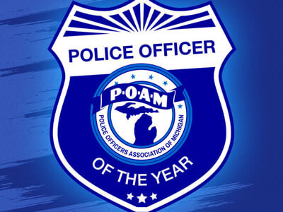 2021 Police Officers of the Year Award post