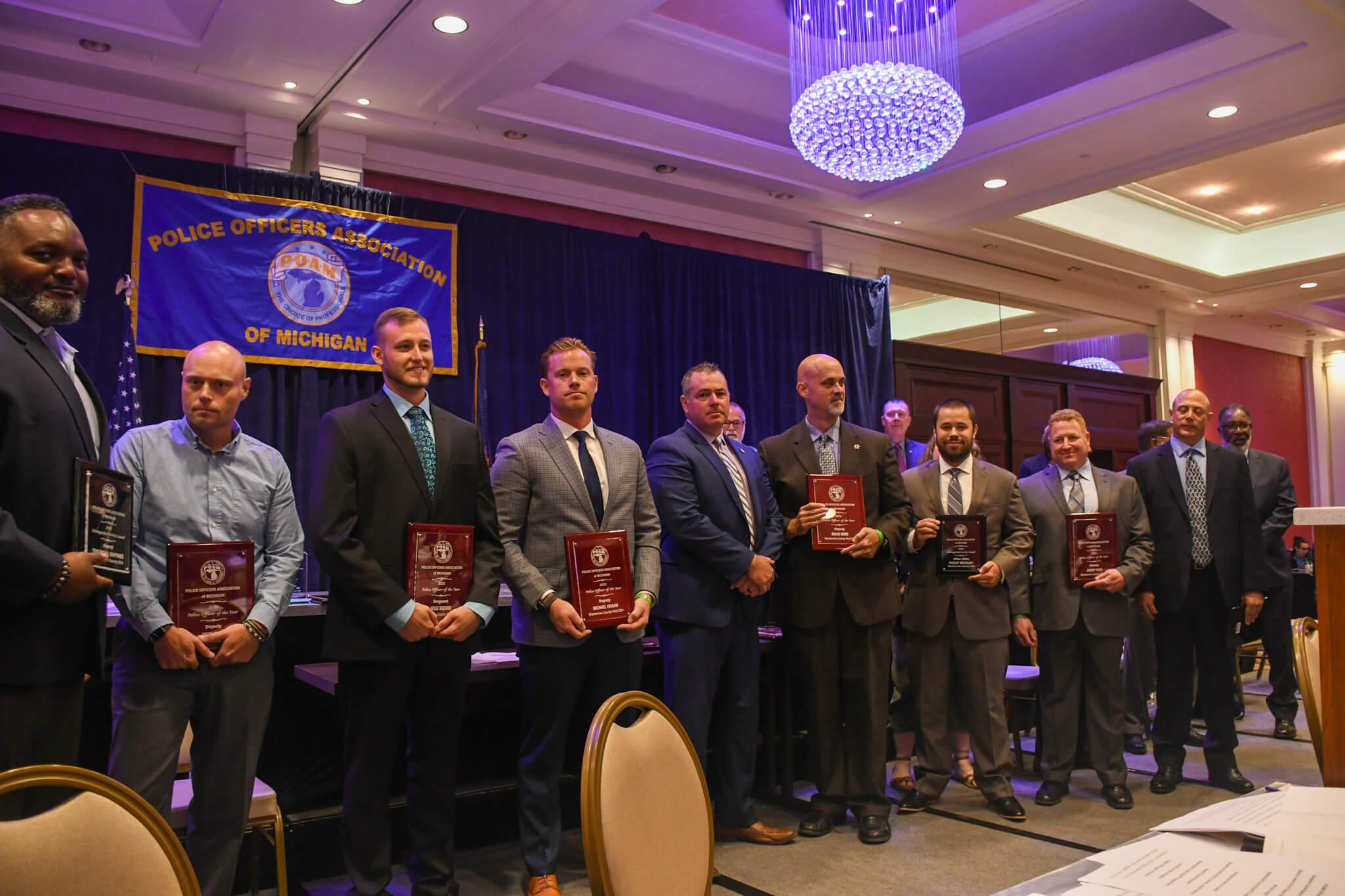 Washtenaw County Deputy Sheriffs Association Group photo